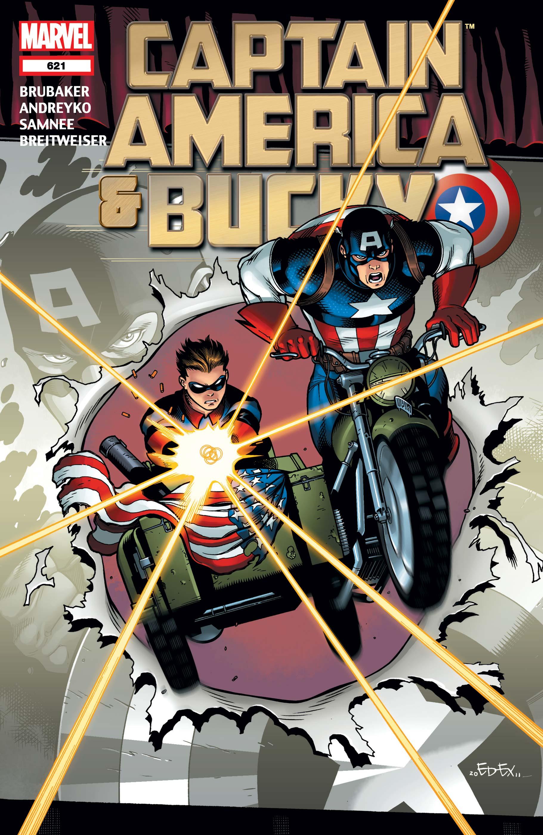 Captain America and Bucky (2011) #621