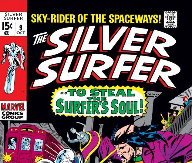 SILVER SURFER (1968) #9