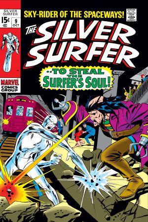 Silver Surfer #9