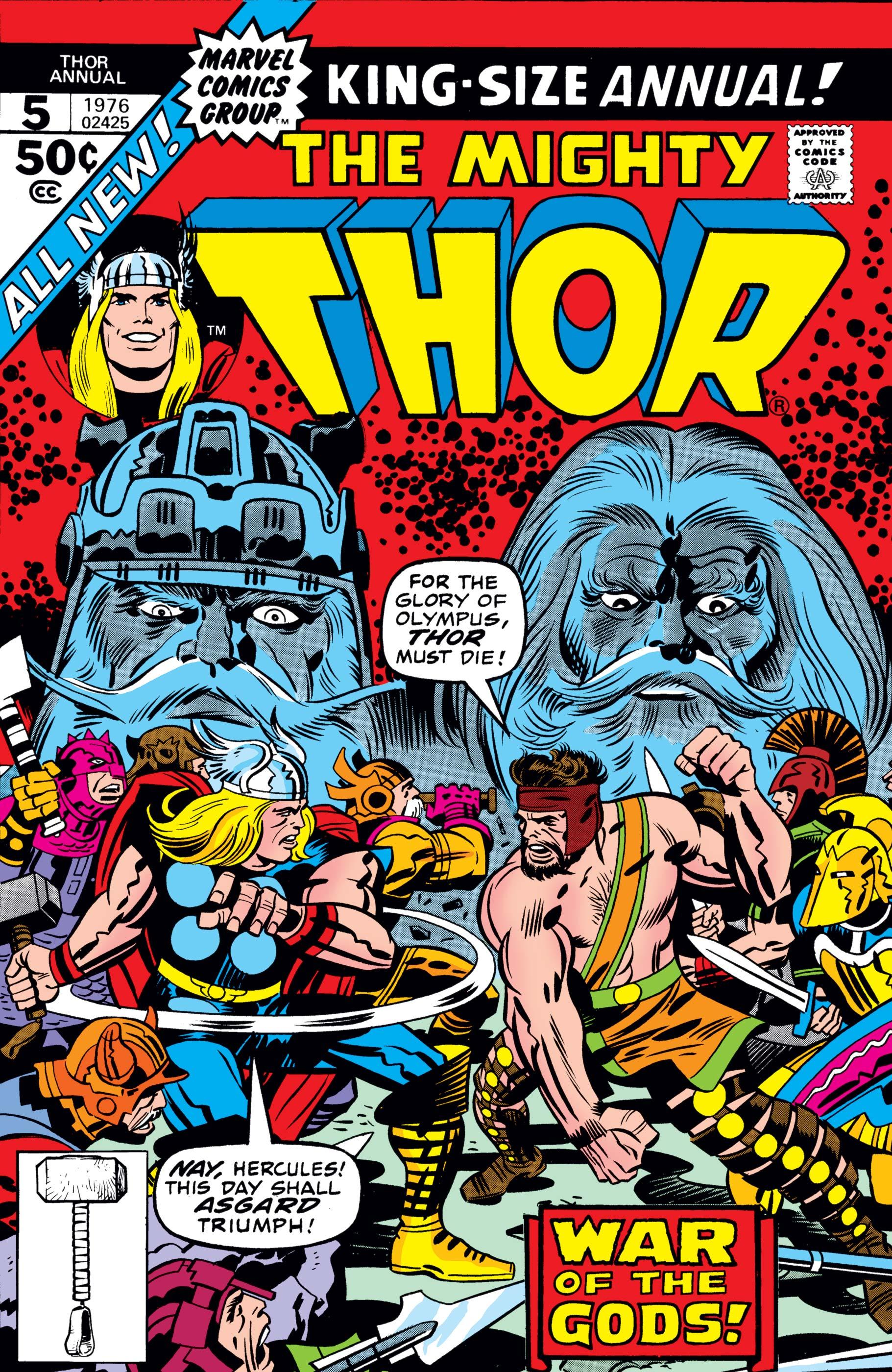 Thor Annual (1966) #5