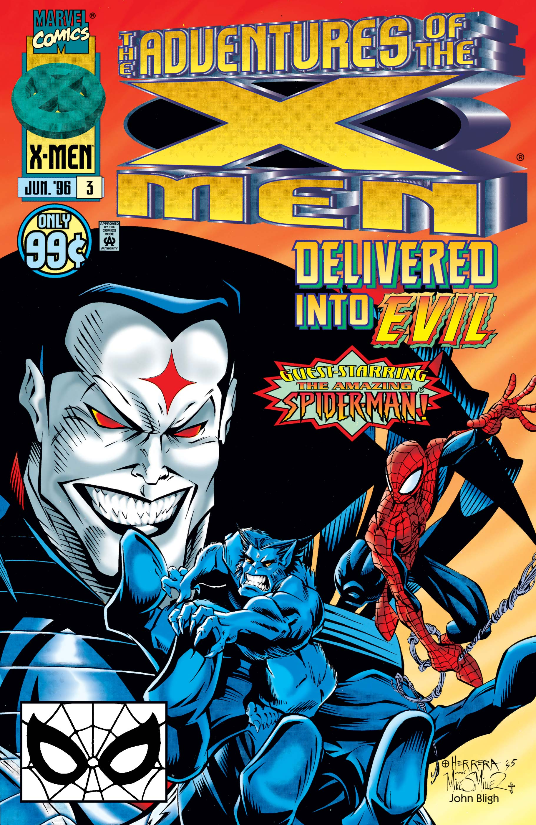 Adventures of the X-Men (1996) #3