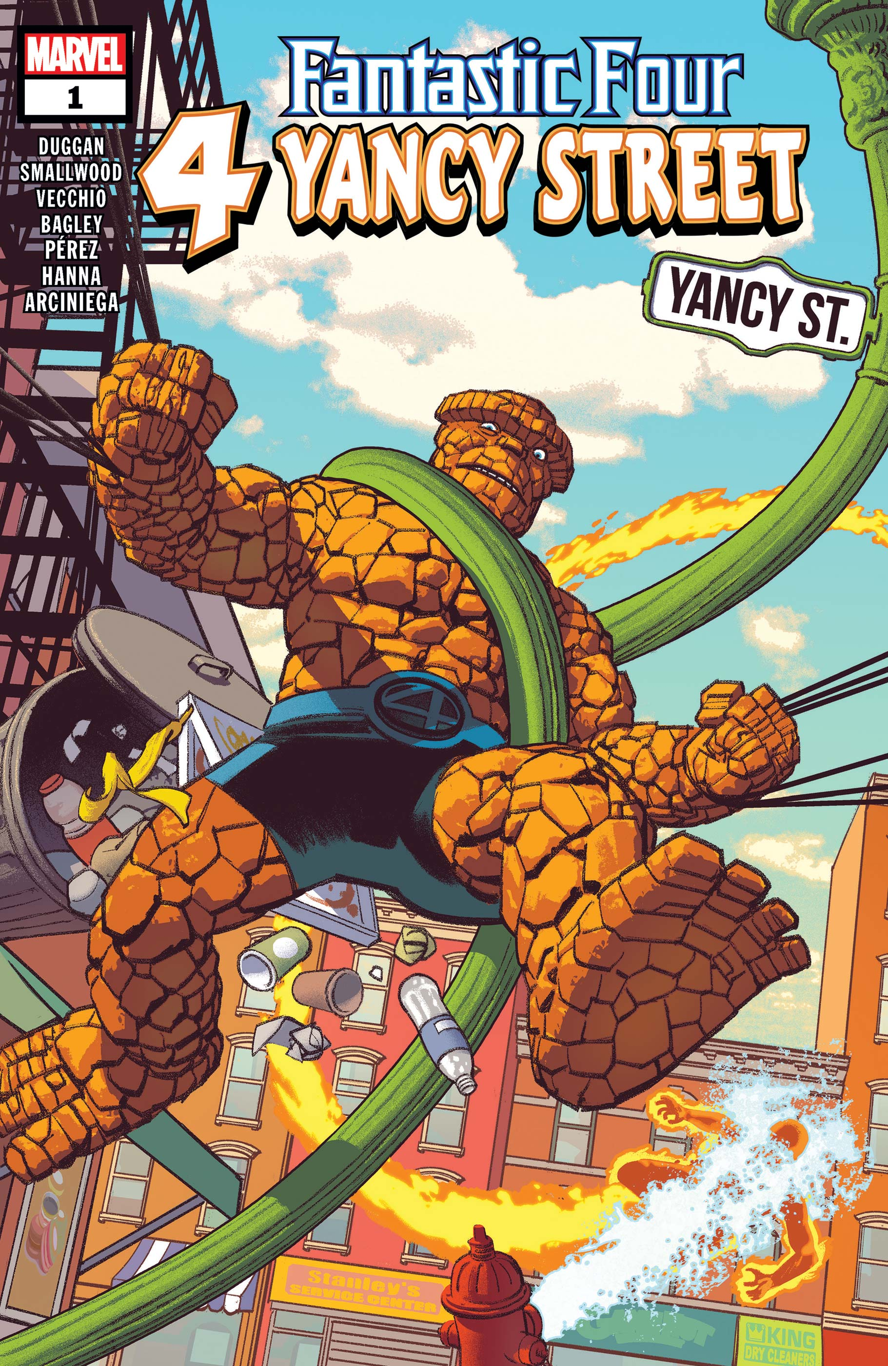Fantastic Four: 4 Yancy Street (2019) #1