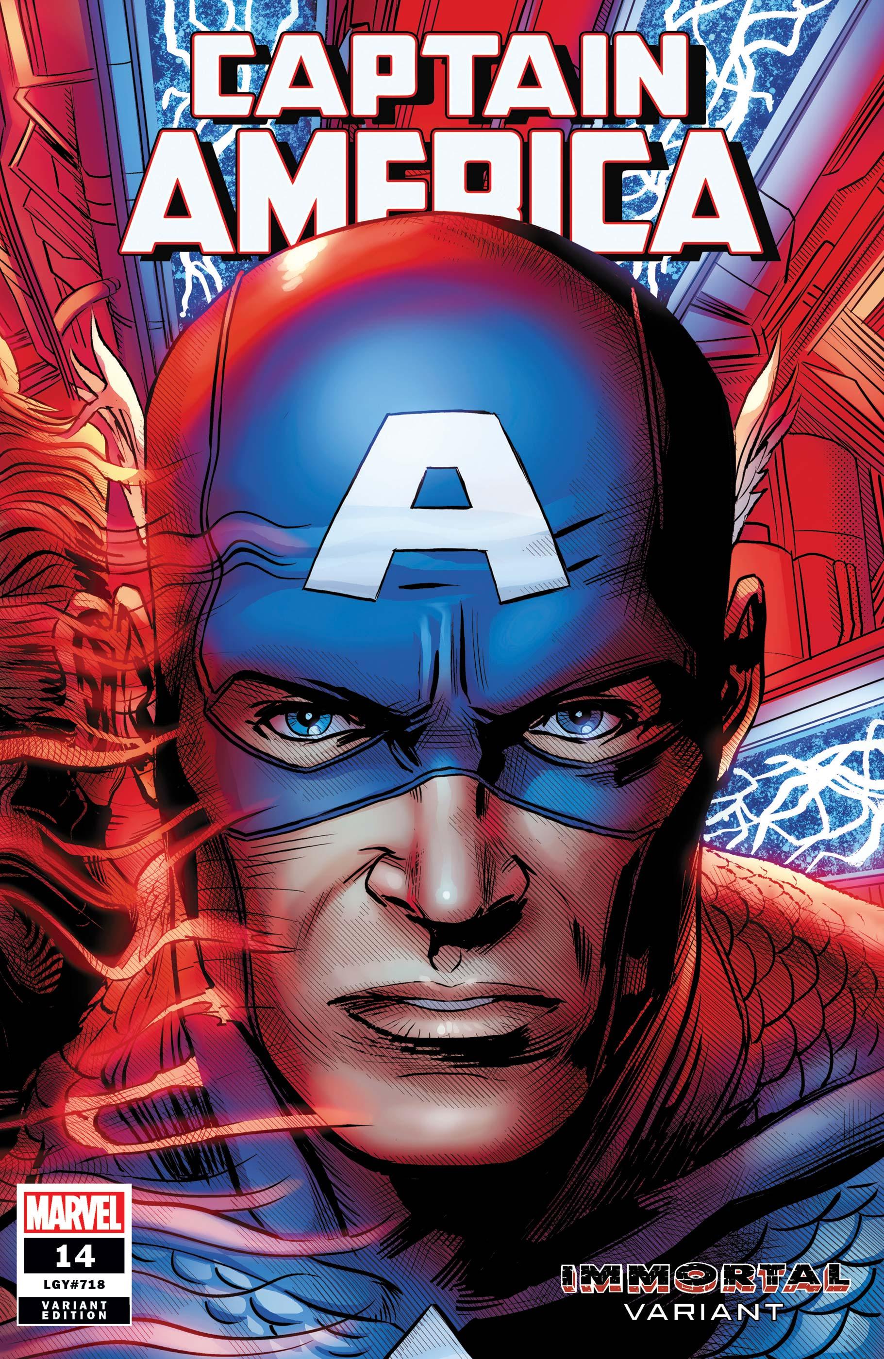 Captain America (2018) #14 (Variant)