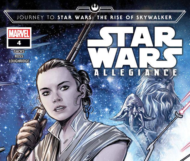 Journey To Star Wars The Rise Of Skywalker Allegiance 2019 4 Comic Issues Marvel