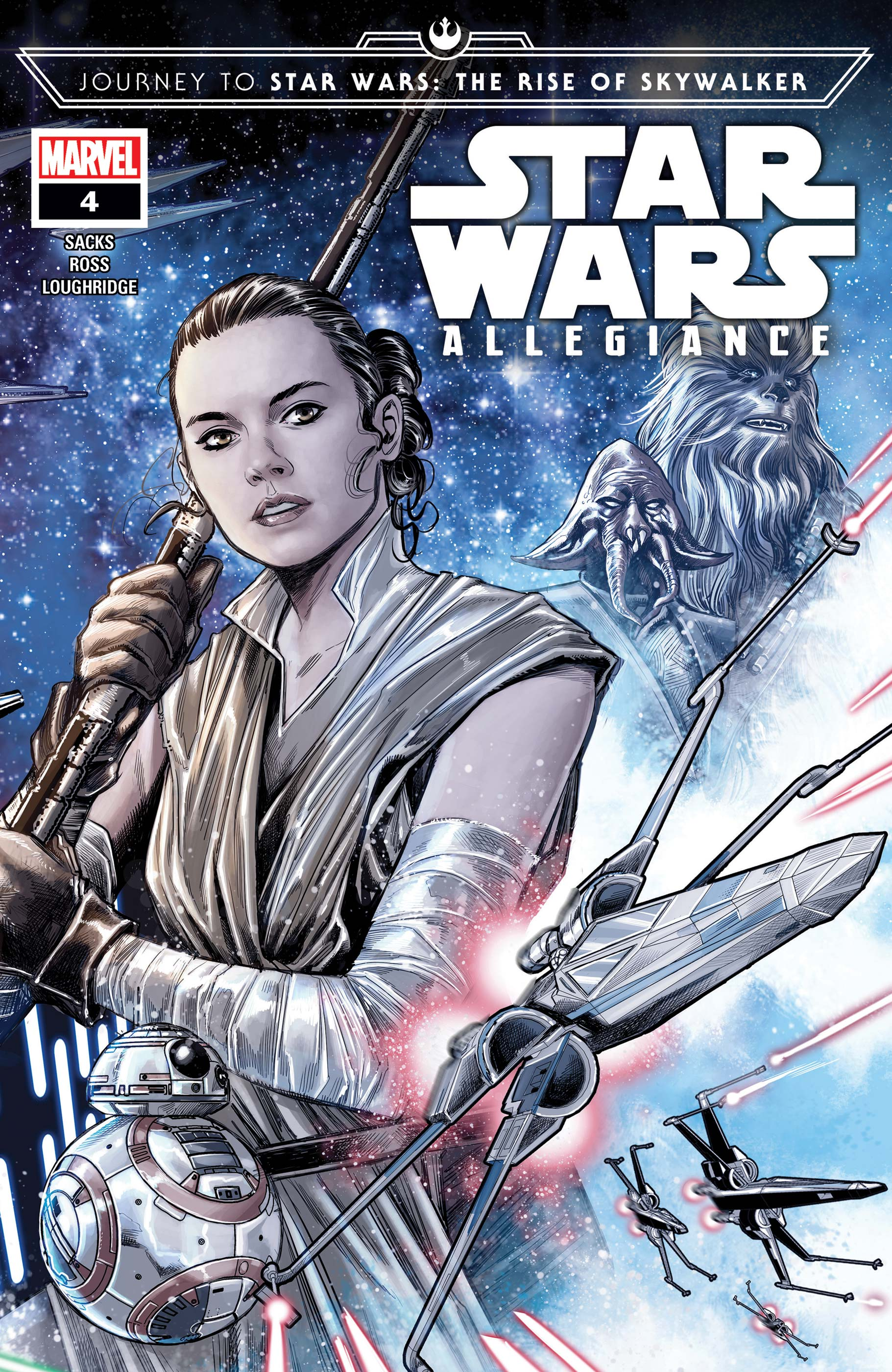 Journey to Star Wars: The Rise of Skywalker - Allegiance (2019) #4