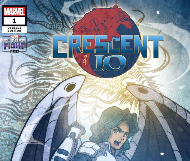 FUTURE FIGHT FIRSTS: CRESCENT AND IO 1 TAKEDA MARVEL'S FUTURE AVENGERS VARIANT #1