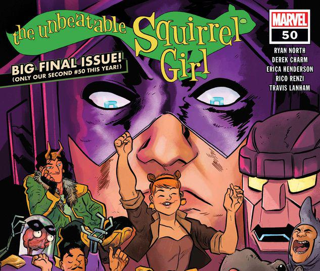 The Unbeatable Squirrel Girl #50