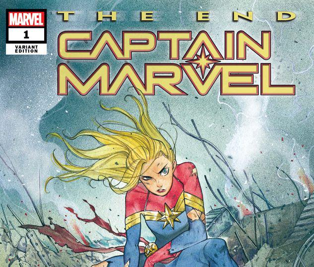 CAPTAIN MARVEL: THE END 1 MOMOKO VARIANT #1