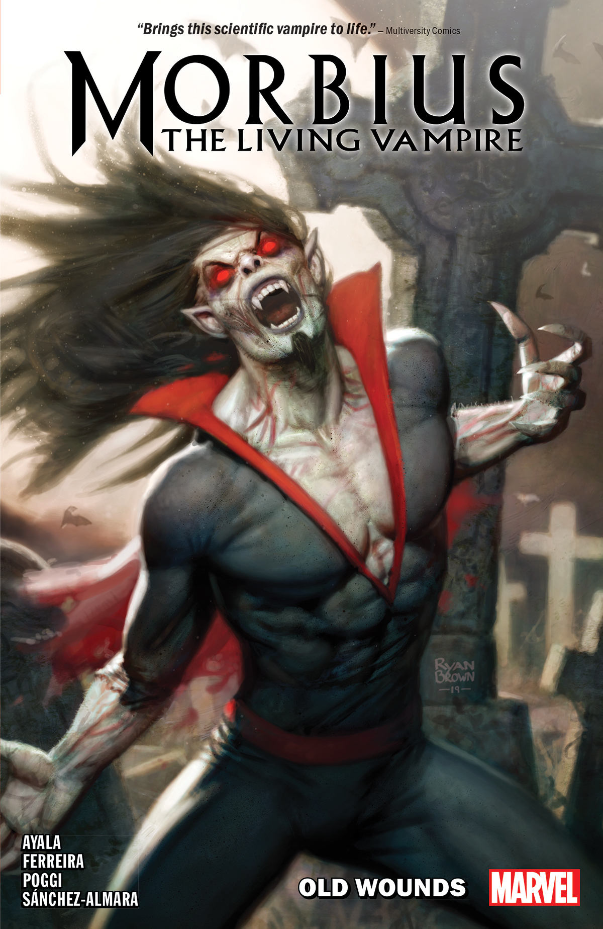 Morbius Vol. 1: Old Wounds (Trade Paperback)