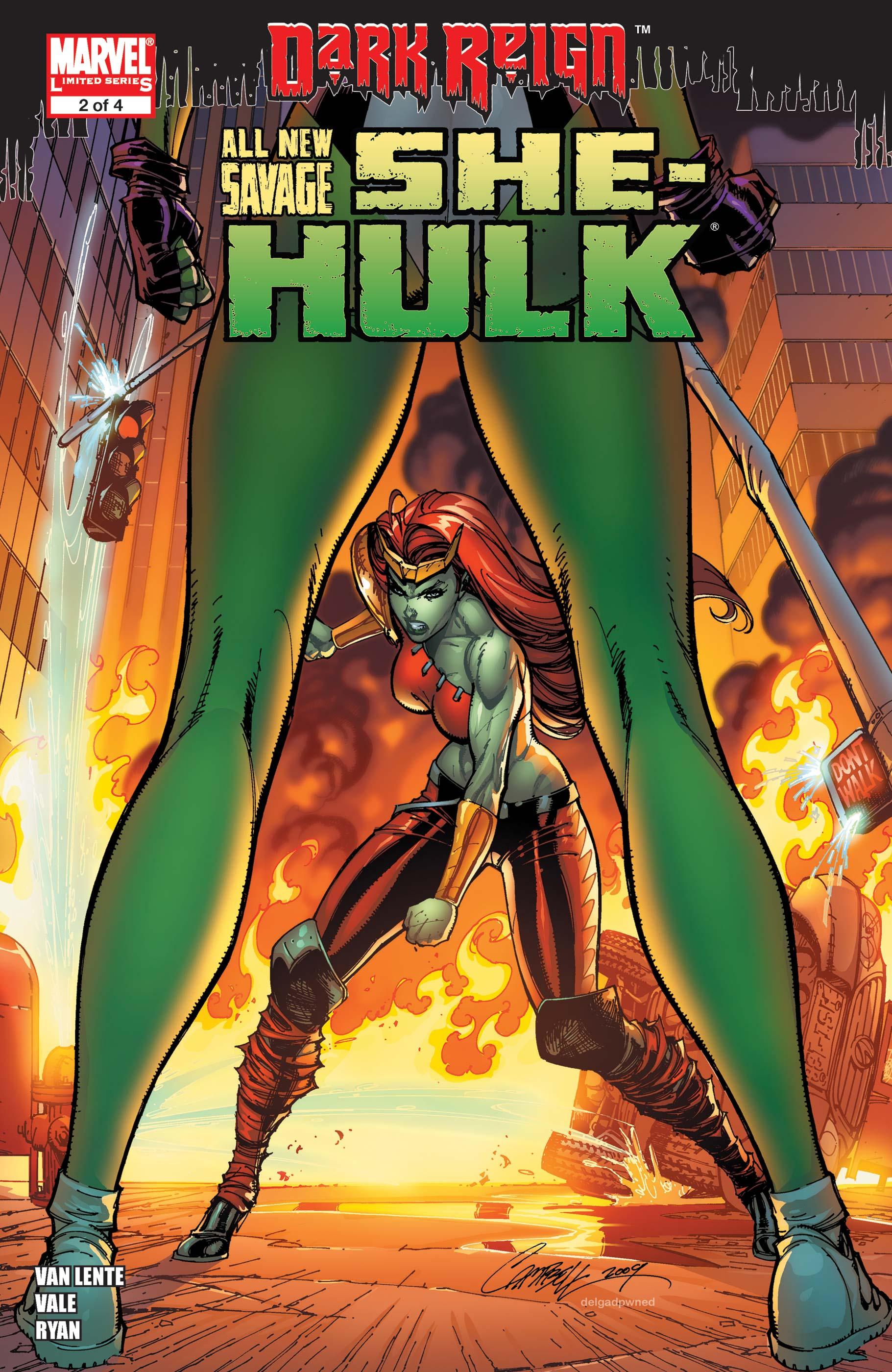 All-New Savage She-Hulk (2009) #2
