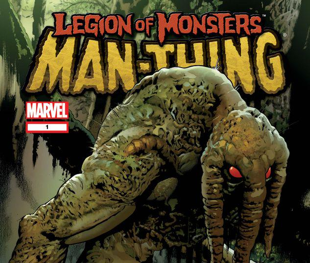 LEGION OF MONSTERS: MAN-THING 1 #1