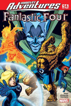 Marvel Adventures Fantastic Four #14