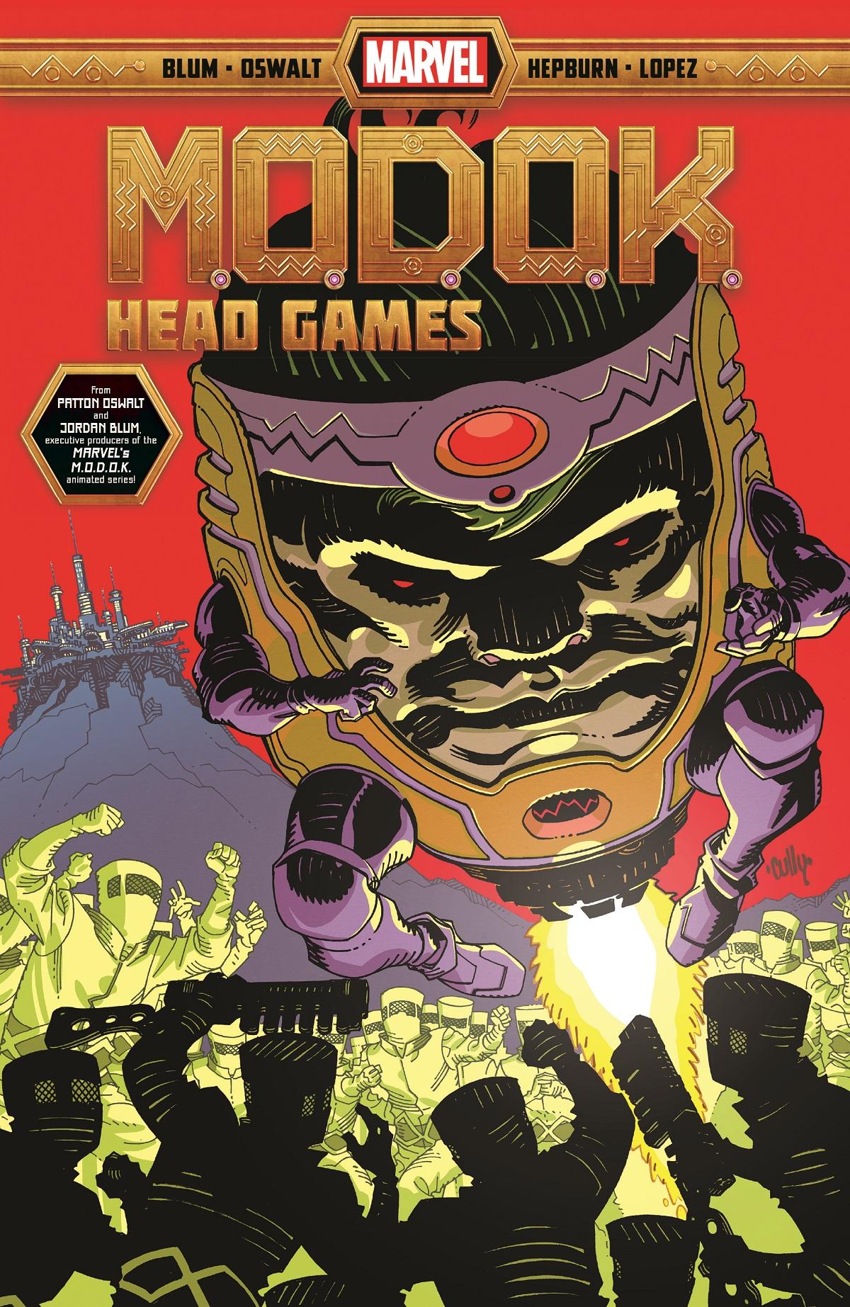 M.O.D.O.K.: Head Games (Trade Paperback)