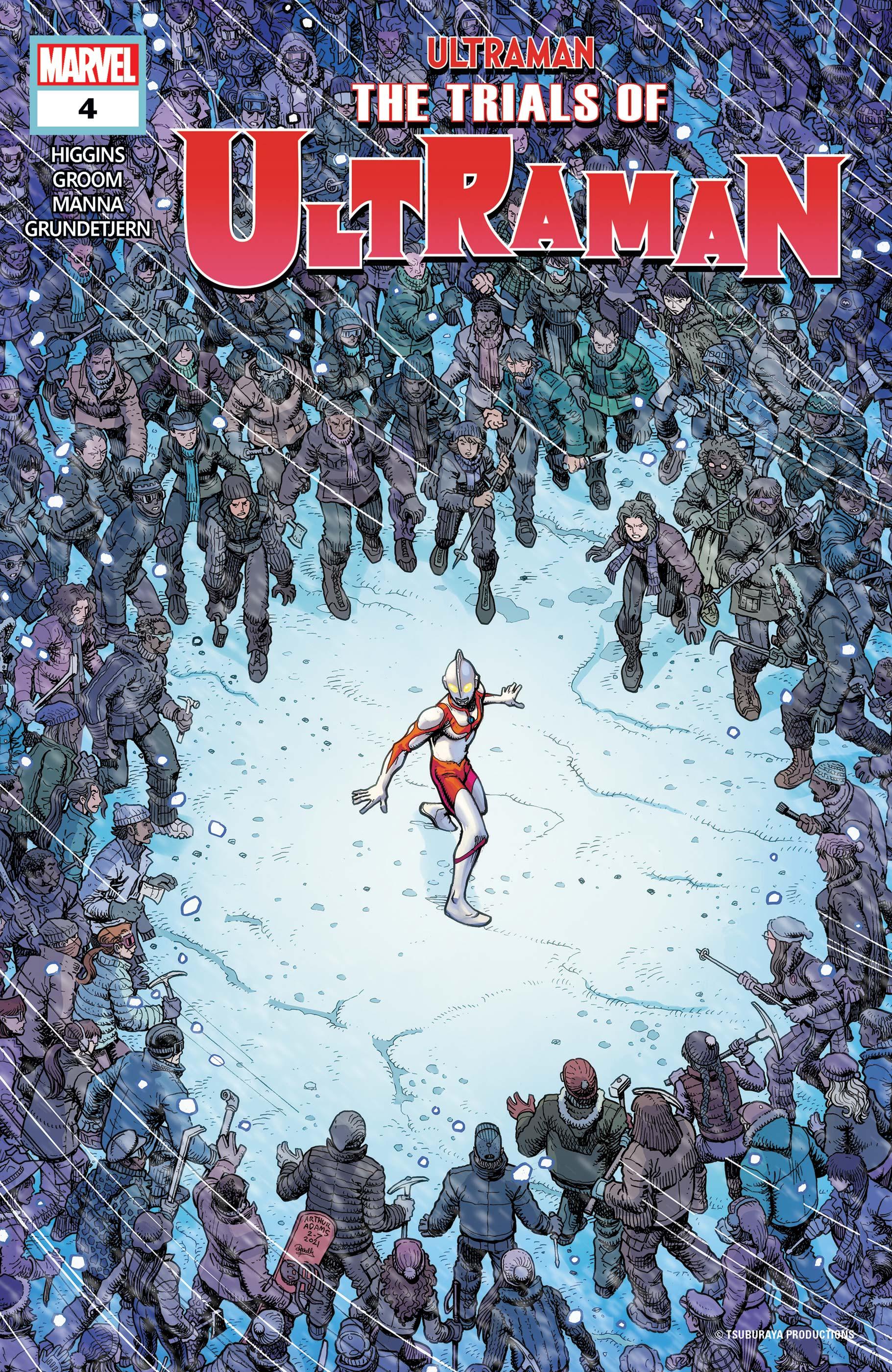 The Trials of Ultraman (2021) #4
