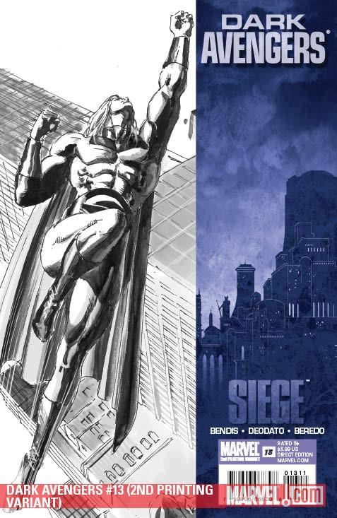 Dark Avengers (2009) #13 (2ND PRINTING VARIANT)