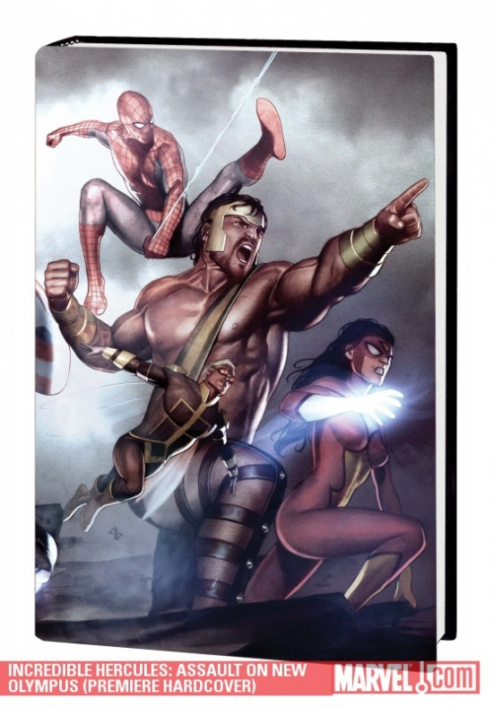 Incredible Hercules: Assault on New Olympus (Hardcover)