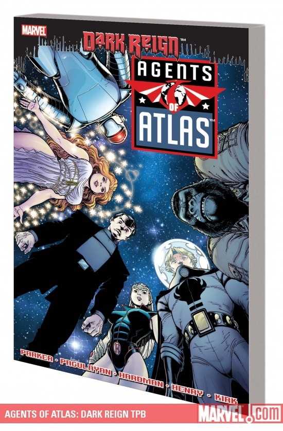 Agents of Atlas: Dark Reign (Trade Paperback)