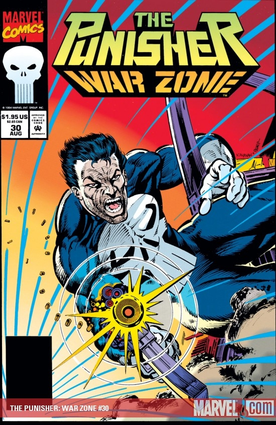 The Punisher War Zone (1992) #30