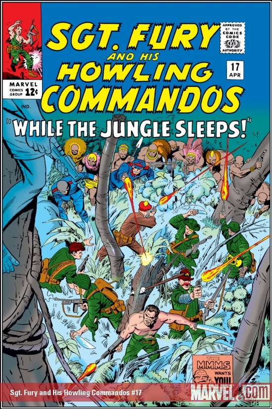 Sgt. Fury and His Howling Commandos (1963) #17