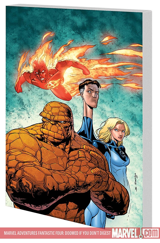 MARVEL ADVENTURES FANTASTIC FOUR: DOOMED IF YOU DON'T DIGEST (Digest)