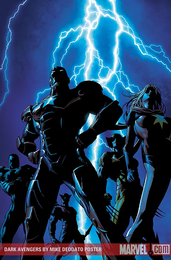 Dark Avengers by Mike Deodato Poster (2009) #1