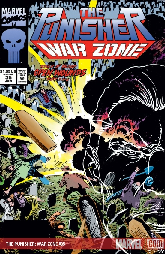 The Punisher War Zone (1992) #35