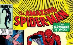 AMAZING SPIDER-MAN #259 COVER