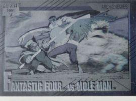Fantastic Four vs. Mole Man Hologram, #H-5