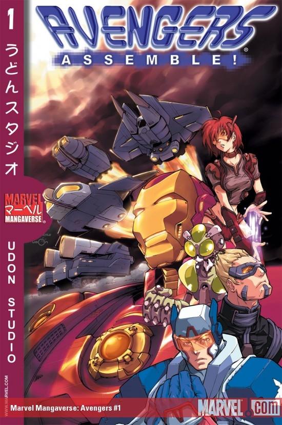 Marvel Mangaverse: Avengers Assemble! (2002) #1