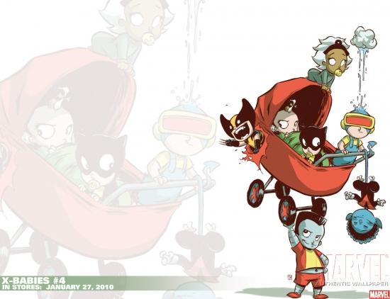 X-Babies (2009) #4 Wallpaper