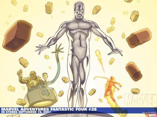 Marvel Adventures Fantastic Four (2005) #28 Wallpaper