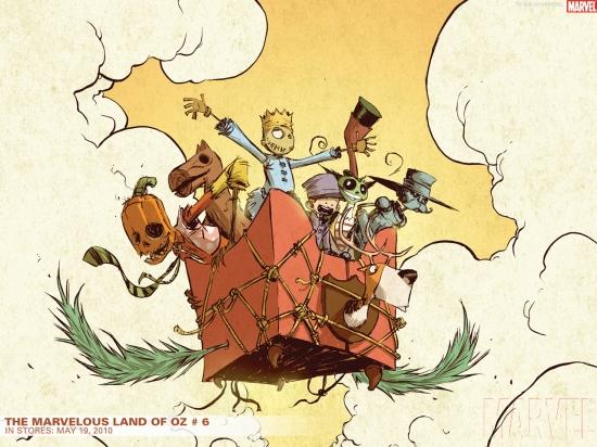 The Marvelous Land of Oz (2009) #6 Wallpaper