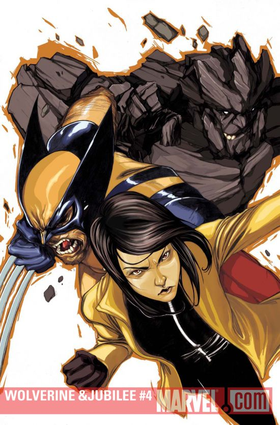 Wolverine & Jubilee (2010) #4