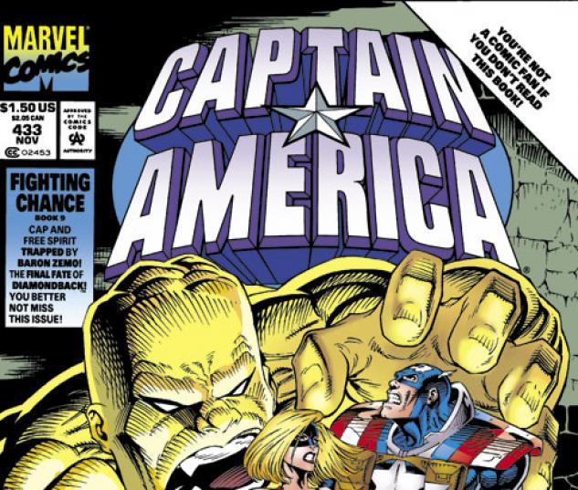 Captain America #433