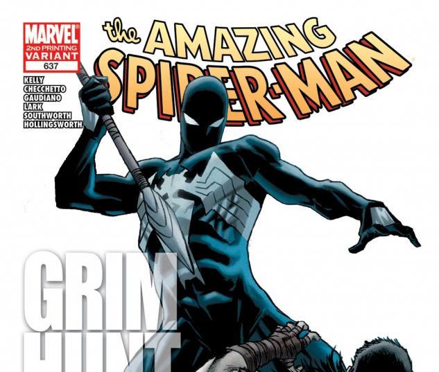 Amazing Spider-Man (1999) #637, 2nd Printing Variant