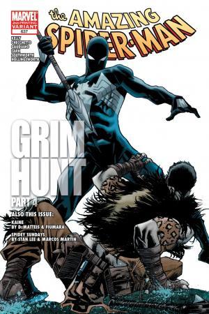 Amazing Spider-Man (1999) #637 (2ND PRINTING VARIANT)