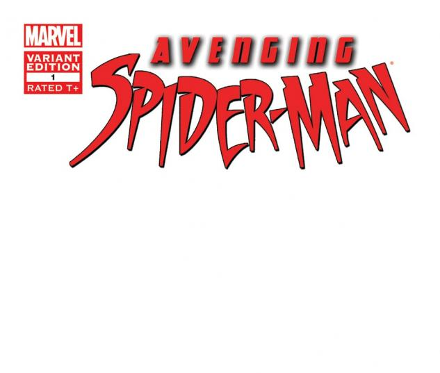 Avenging Spider-Man (2011) #1, Blank Cover Variant