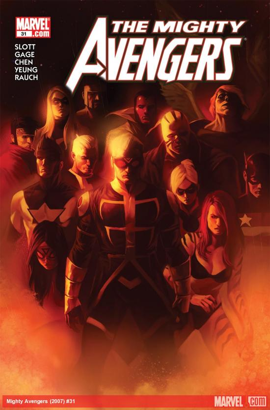 Mighty Avengers (2007) #31