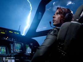 Black Widow (Scarlett Johansson) in Marvel's The Avengers