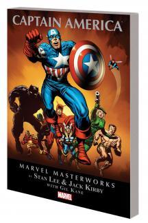Marvel Masterworks: Captain America Vol. 2 (Trade Paperback)