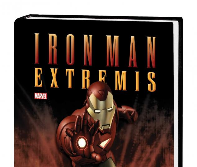 IRON MAN: EXTREMIS PROSE NOVEL HC (SDOS)
