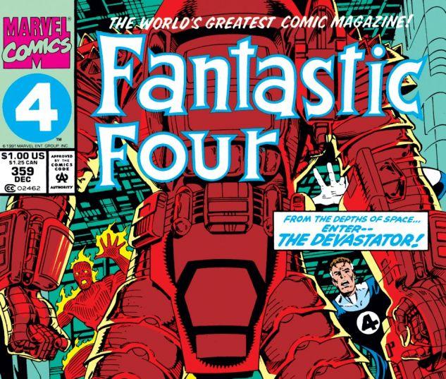 Fantastic Four (1961) #359 Cover