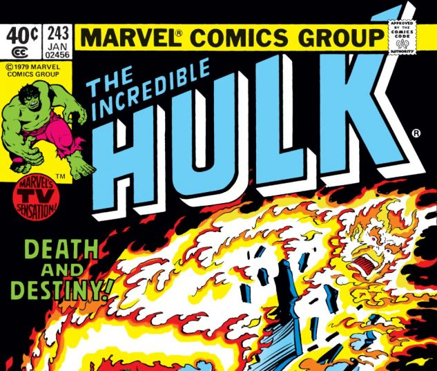 Incredible Hulk (1962) #243 Cover