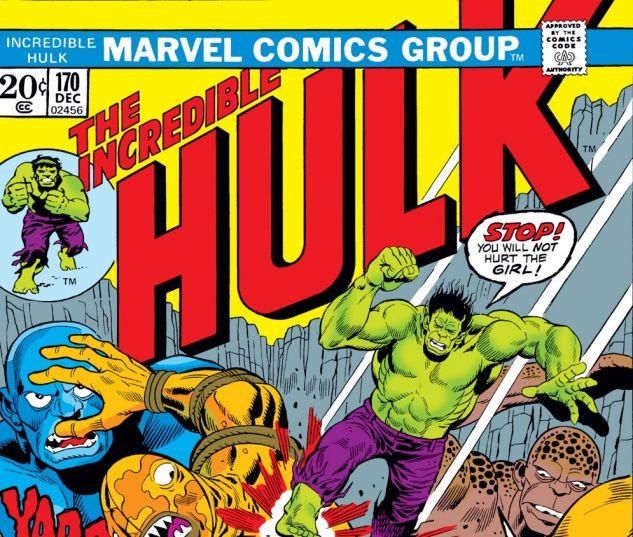 Incredible Hulk (1962) #170 Cover