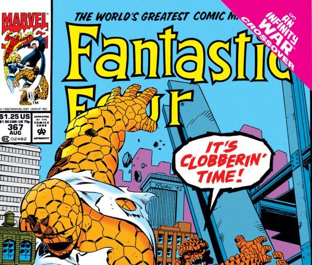 Fantastic Four (1961) #367 Cover