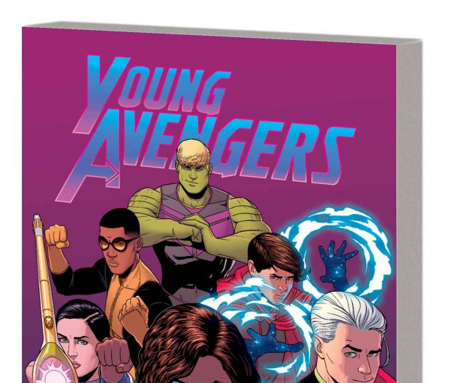YOUNG AVENGERS VOL. 3: MIC-DROP AT THE EDGE OF TIME AND SPACE TPB (MARVEL NOW)