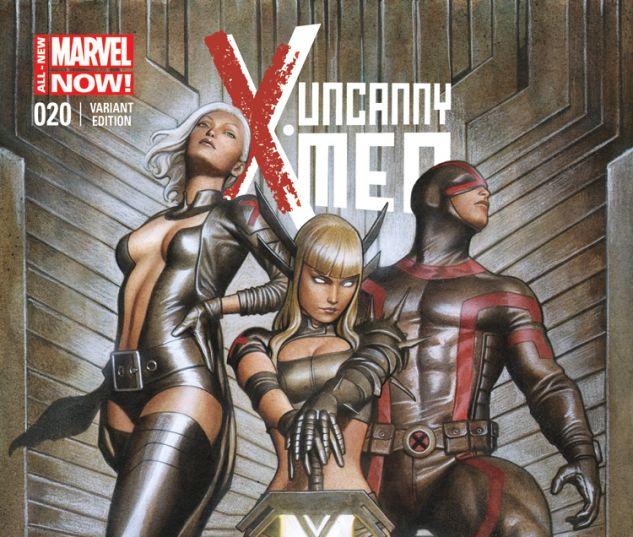 UNCANNY X-MEN 20 GRANOV VARIANT (ANMN, WITH DIGITAL CODE)