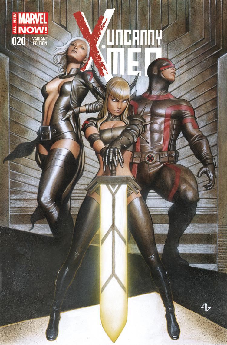 Uncanny X-Men (2013) #20 (Granov Variant)