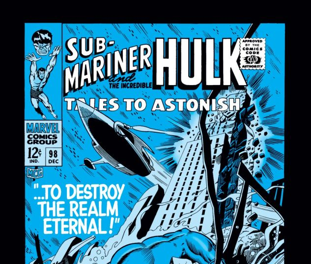 Tales to Astonish (1959) #98 Cover