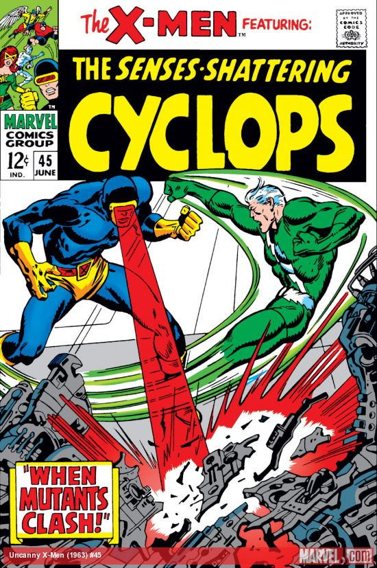 Uncanny X-Men (1963) #45